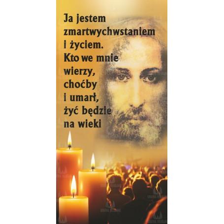Baner na Wszystkich Świętych wzór 18
