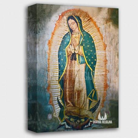 Obraz na płótnie - Matka Boża z Guadelupe NMP4