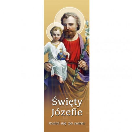 Dekoracja kościoła - Święty Józef 2