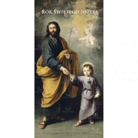Baner na Rok Świętego Józefa  wzór 05A-N