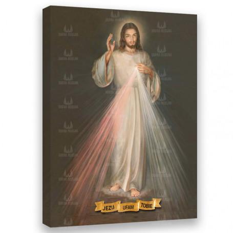 Obraz na płótnie - Jezus Miłosierny