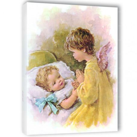 Obraz na płótnie - Anioł Stróż  wzór 23