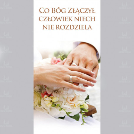 Baner na ślub 1