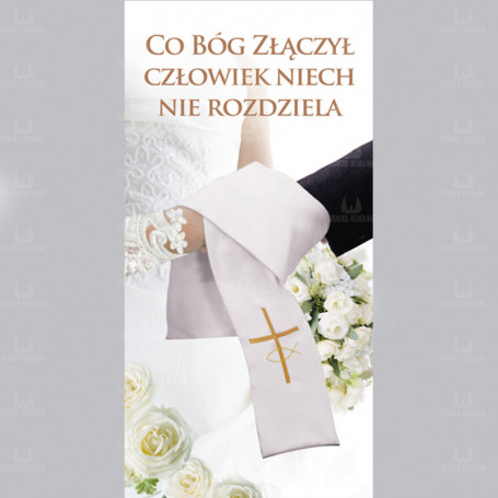 Baner na ślub 2