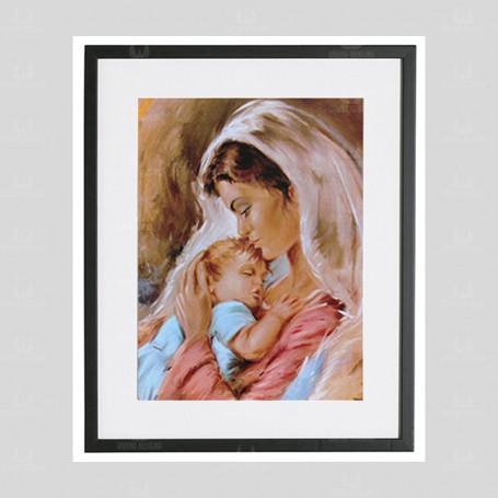 Matka Boża NMP6 - obraz na płótnie w ramie